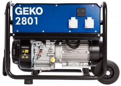 Бензиновый генератор Geko 2801 E-A/SHBA