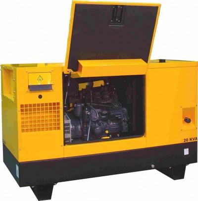 Дизельный генератор Gesan DPAS 25 E MF