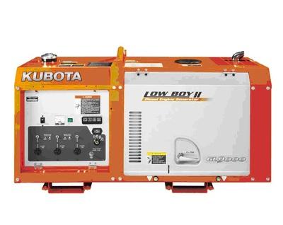 Дизельный генератор Kubota GL 9000