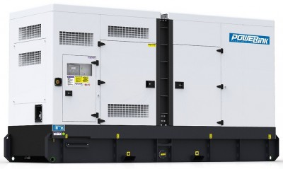Дизельный генератор Power Link GMS575CS в кожухе с АВР