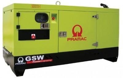 Дизельный генератор Pramac GSW 15 Y 1 фаза с АВР