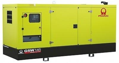 Дизельный генератор Pramac GSW 145I в кожухе с АВР