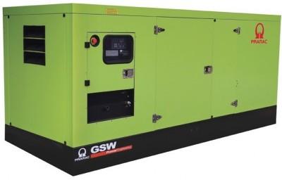 Дизельный генератор Pramac GSW 220 I в кожухе