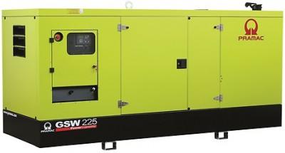 Дизельный генератор Pramac GSW 225 I в кожухе с АВР