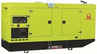 Дизельный генератор Pramac GSW 250 P в кожухе