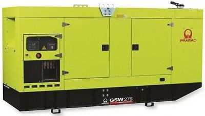 Дизельный генератор Pramac GSW 275 P в кожухе с АВР