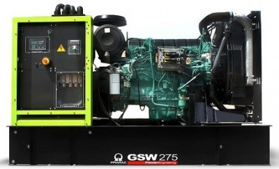 Дизельный генератор Pramac GSW 510 DO с АВР