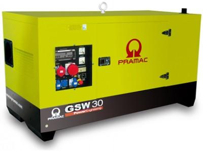 Дизельный генератор Pramac GSW 30 Y в кожухе