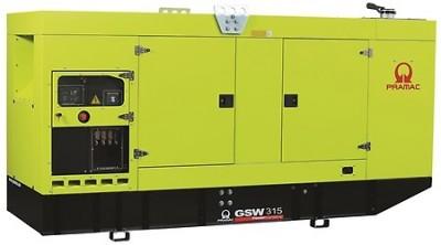 Дизельный генератор Pramac GSW 315 P в кожухе с АВР