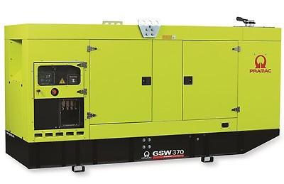 Дизельный генератор Pramac GSW 370 V в кожухе