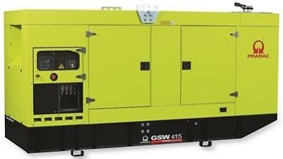 Дизельный генератор Pramac GSW 415 P в кожухе