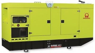 Дизельный генератор Pramac GSW 460 V в кожухе