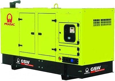 Дизельный генератор Pramac GSW 10 Y в кожухе