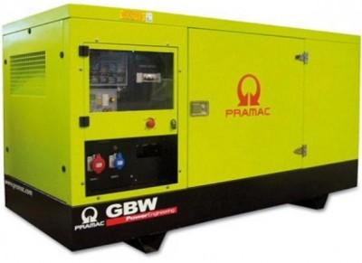Дизельный генератор Pramac GSW220 V в кожухе