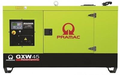 Дизельный генератор Pramac GXW 45 W в кожухе