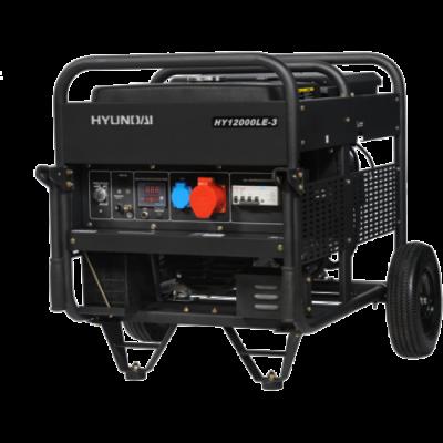 Бензиновый генератор Hyundai HY 12000LE-3
