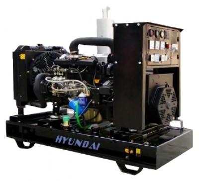 Дизельный генератор Hyundai DHY125KE