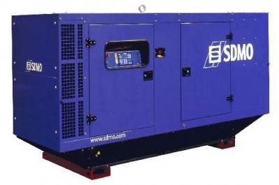 Дизельный генератор SDMO J66K в кожухе с АВР