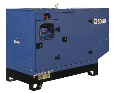 Дизельный генератор SDMO J88K в кожухе