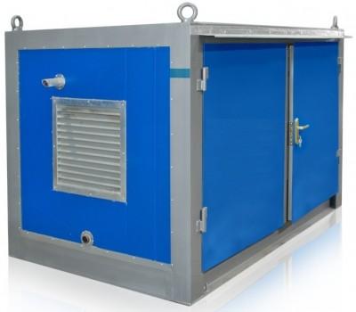 Дизельный генератор Aksa APD12A в контейнере с АВР