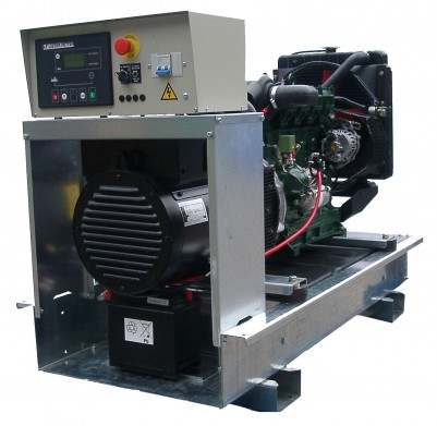 Дизельный генератор Lister Petter LWX 27 с АВР