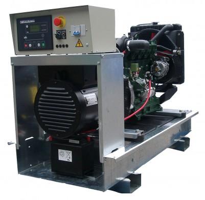 Дизельный генератор Lister Petter LWX 27 3 фазы с АВР