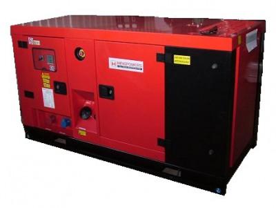 Дизельный генератор MingPowers M-Y23 в кожухе с АВР