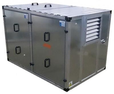 Бензиновый генератор Mitsui Power ZM 5500 E в контейнере с АВР