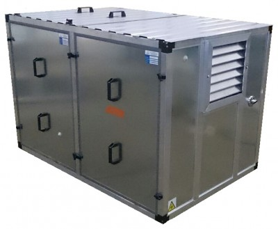 Бензиновый генератор Kipor KGE 12 E3 в контейнере