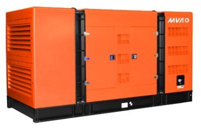 Дизельный генератор MVAE АД-140-400-С в кожухе с АВР
