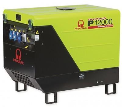 Бензиновый генератор Pramac P12000 с АВР