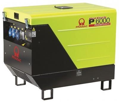 Дизельный генератор Pramac P 6000 AUTO