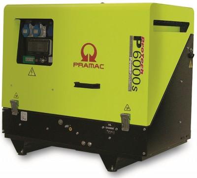 Дизельный генератор Pramac P 6000s 3 фазы AUTO