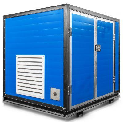 Бензиновый генератор Mitsui Power ZM 7500 E в контейнере с АВР