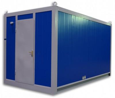 Дизельный генератор SDMO J110K в блок-контейнере ПБК 3 с АВР