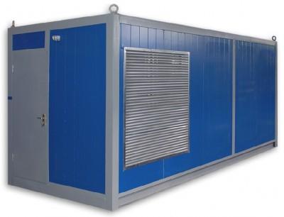 Дизельный генератор Cummins C500D5e в контейнере с АВР