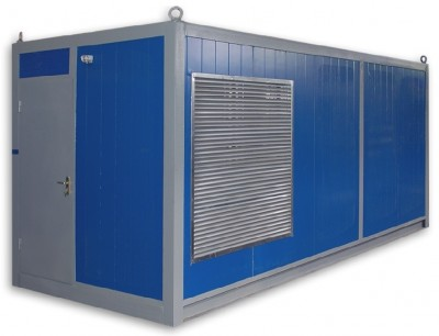 Дизельный генератор Pramac GSW 580 DO в контейнере
