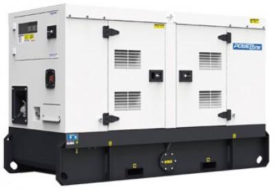 Дизельный генератор Power Link WPS27S в кожухе с АВР