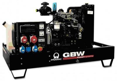 Дизельный генератор Pramac GBW 22 P 1 фаза