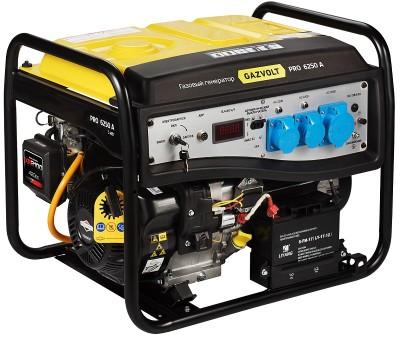 Газовый генератор Gazvolt Pro 6250 A 08 с АВР
