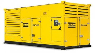 Дизельный генератор Atlas Copco QAC 800