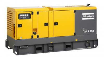 Дизельный генератор Atlas Copco QAS 150