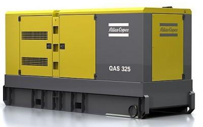 Дизельный генератор Atlas Copco QAS 325