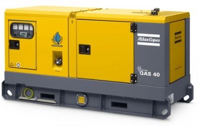 Дизельный генератор Atlas Copco QAS 40 с АВР