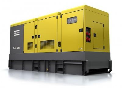 Дизельный генератор Atlas Copco QAS 500 с АВР