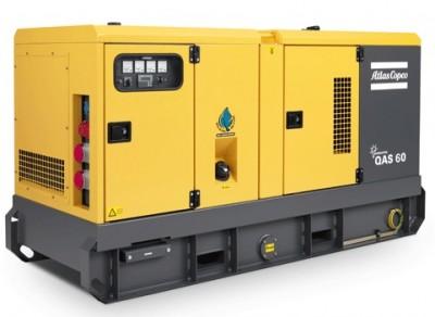 Дизельный генератор Atlas Copco QAS 60 с АВР