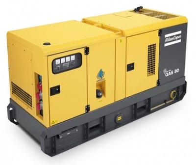 Дизельный генератор Atlas Copco QAS 80 с АВР