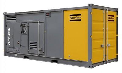 Дизельный генератор Atlas Copco QEC 800