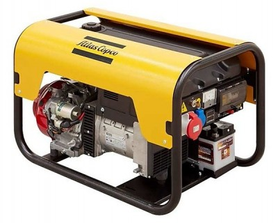 Бензиновый генератор Atlas Copco QEP R7.5 с АВР