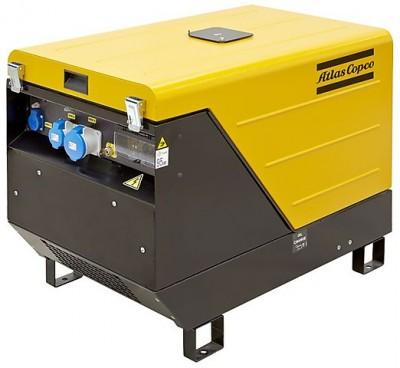 Бензиновый генератор Atlas Copco QEP S14 с АВР